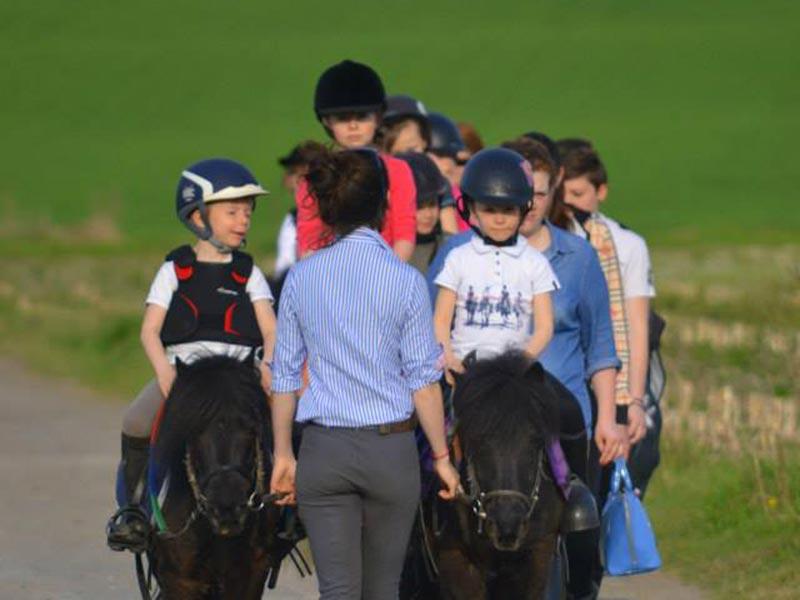ecole equitation gros chene bousbecque cours débutant