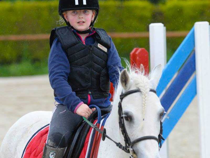 Ecole equitation gros chene cours grand poney