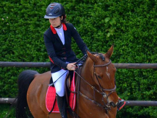 Pauline Fievez monitrice d'équitation Gros Chêne Bousbecque
